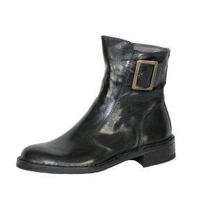Bubetti - Bubetti 2047 Sort Damestøvle med Pyntespænde