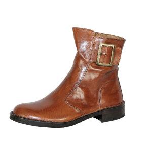 Bubetti - Bubetti 2047 Cognac Damestøvle med Pyntespænde