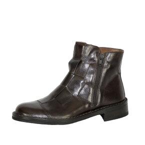 Bubetti - Bubetti 2531 Smart.111 mørkebrun støvle med flet