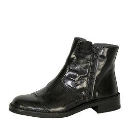 Bubetti - Bubetti 2531 Smart.Nero Sort støvle med flet