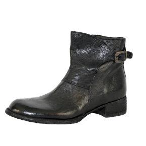 Bubetti - Bubetti 9615 Lux Nero Sort Støvlet med Spænde