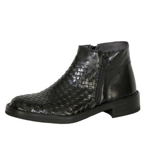 Bubetti - Bubetti 2609 sort damestøvle med flet