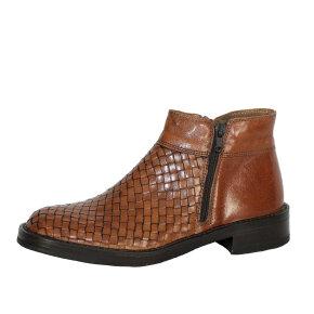 Bubetti - Bubetti 2609 cognac damestøvle med flet