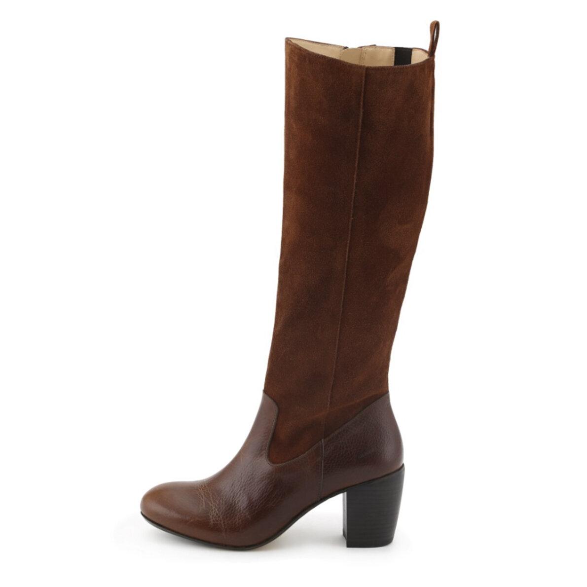 PIEDI Angulus 7428 102 naturbrun langskaftet støvle