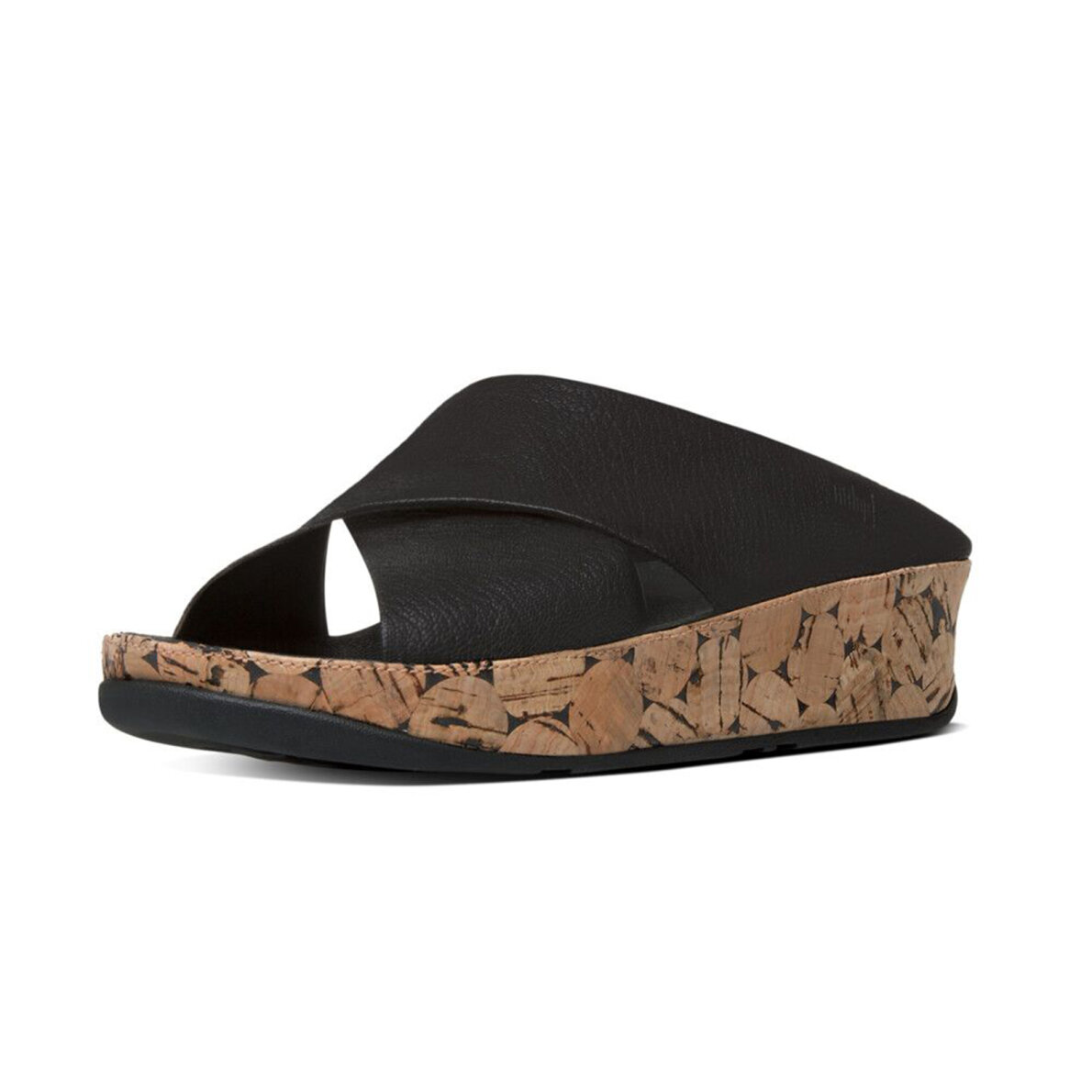 24cf336a96b1 Fitflop KYS KORK All Black sandal - Køb på Piedi.dk
