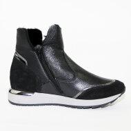 DL Sport - 3642 Velour Nero Dollaro Nero Sneaker