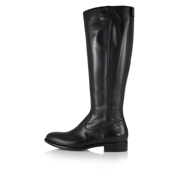 Billi Bi - Billi Bi 8115 sort lang damestøvle i skind