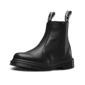 Dr Martens 2976 W/ZIPS Sort - Dr Martens Boots - Piedi.dk